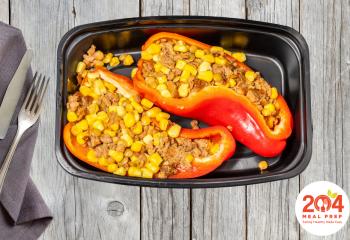 Beyond Meat Stuffed Peppers | Vegan