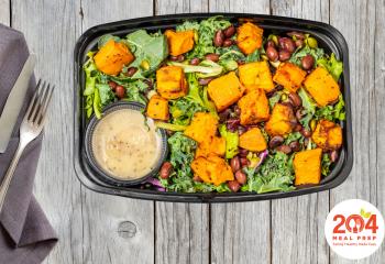 Black Bean Kale Super Salad | Vegan