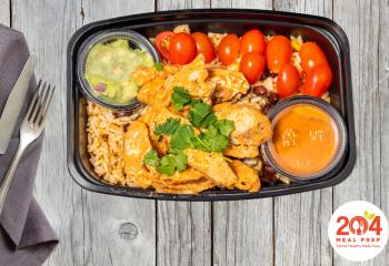 Burrito Bowl with Chicken | Lean