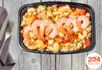 Curry Bowl Red with Shrimp | Lean