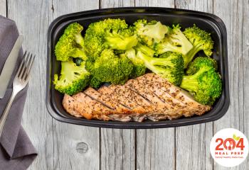 Grilled Pork Tenderloin with Broccoli | Keto