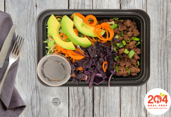 Beef Power Bowl with Ground Beef