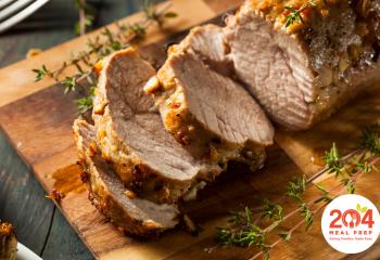 Sliced Greek Pork Tenderloin 1 Pound