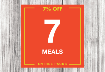 7 Entree Meal Pack