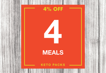 4 Keto Meal Pack