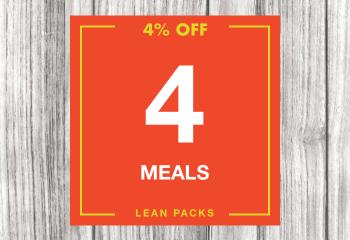 4 Lean Meal Pack