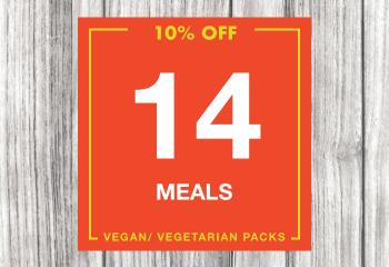 14 Vegan Meal Pack