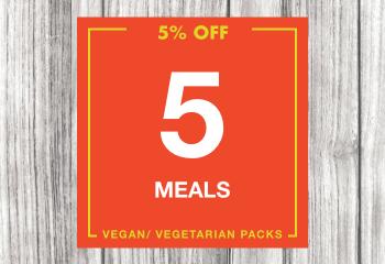 5 Vegan Meal Pack